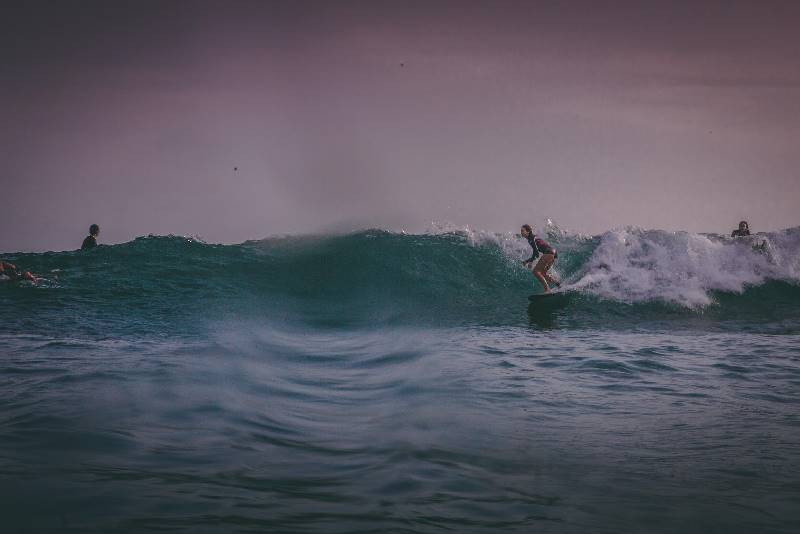 3. Look down the line, The Surfer - The best surfing and yoga retreat in Sri Lanka and South Asia.