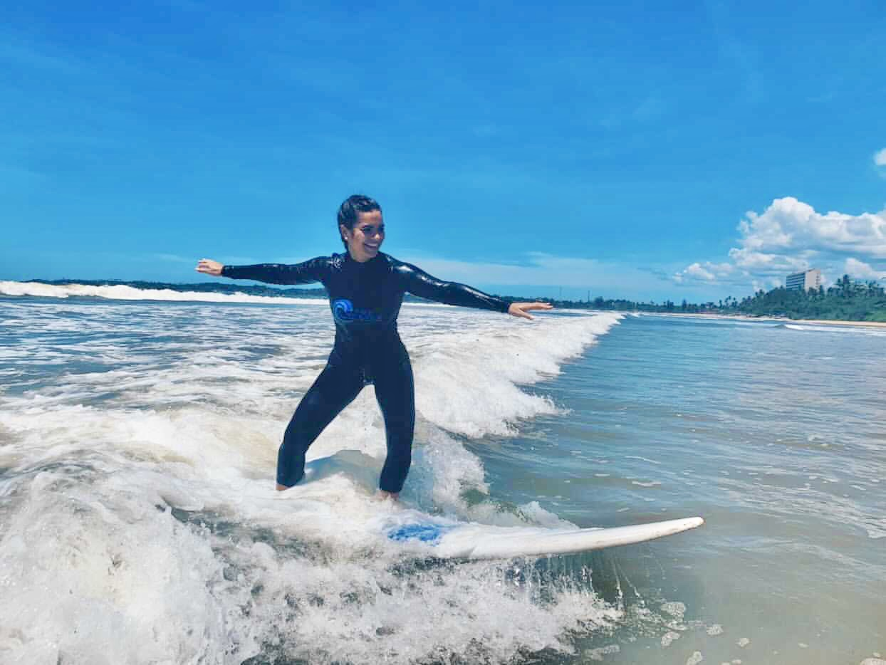 1. Weligama Surfing Beach, The Surfer - The best surfing and yoga retreat in Sri Lanka and South Asia.