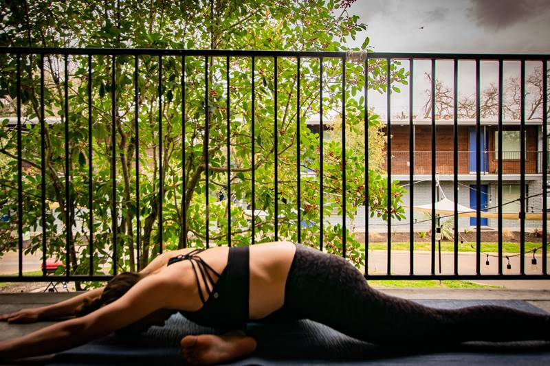 4. Pigeon Pose, The Surfer - The best surfing and yoga retreat in Sri Lanka and South Asia.