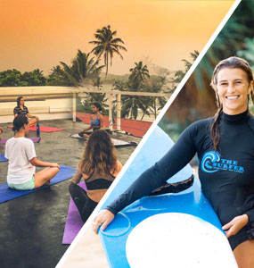 SURF AND YOGA PACKAGE (01 YOGA SESSION AND 01 SURF SESSION)